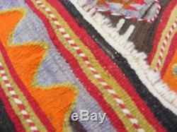 Antique Navajo Native Rug Hand Made