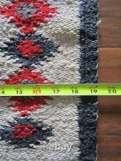 Antique Navajo Rug Germantown Tapestry Gallup Throw Native American Weaving 1900