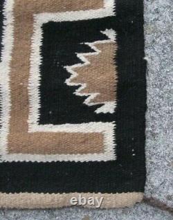 Antique Navajo Rug Red Mesa Blanket Native American Indian Teec Nos Pos Tapestry