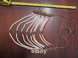 Antique Northern Plains Multi Strand Warrior Necklace spectacular collectible
