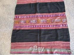 Antique Peruvian woolen altar cloth 39 x 45 inches