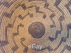 Antique Pima Basket Tray Southwest Native American Indian Big 16