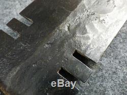 Antique Plains Indian Dag Knife Forged Blade Hudsons Bay Co. Paddle Handle 1860