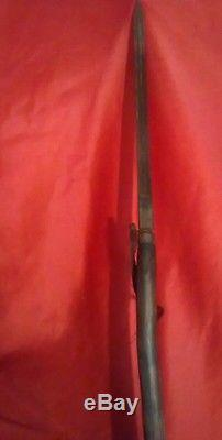 Antique Primitive Native American Indian 19th C Buffalo Hunting War Lance Spear