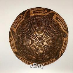 Antique, Vintage Native American Indian Basket (Pima Akimel O'odham)