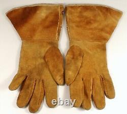 Antique c1890 Native American Yakama Umatilla Nez Perce Beaded Gauntlet Gloves