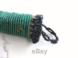 Antique ca 1890 Plains Indian Native American Beaded Awl Case
