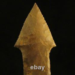 Authentic Native American Stone Dagger Old British Collection