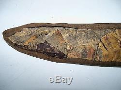 Beautiful Antique Beaded Native American 9 Knife Sheath