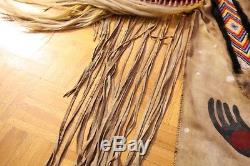 Blackfoot Native American Plains (Canadian Plains) Leather Hide