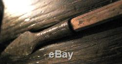 C1870-90 PLAINS INDIAN ARROW Native American STEEL-TIPPED Antique WARS Artifact