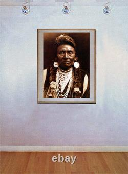 Chief Joseph 22x30 Hand Numbered Ltd. Editio Edward S. Curtis Native American Art