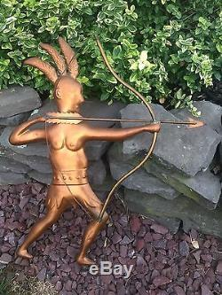 Copper Indian Native American Weathervane