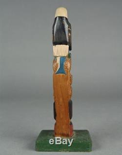 Dated 1931 ELI TAIT (1872-1949) TSIMSHIAN Carved TOTEM POLE Native Northwest 11