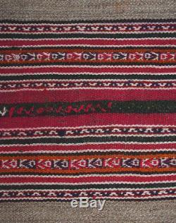 EXCEPTIONAL ANTIQUE QUECHUA INDIAN MANTA Masterful Ceremonial Textile TM12795