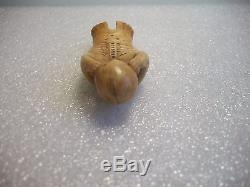 Eskimo Inuit Yupik (Chukchi) Siberia Antique arving Amulet Figurine