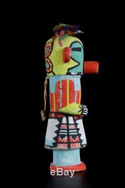 Ex Museum Fine Hopi Butterfly Kachina Ca 1930's