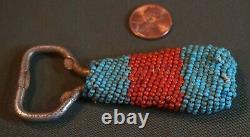 Fine Vintage Native American Fully Beaded Bottle Opener
