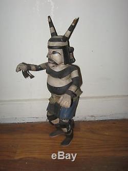 KOSHARI HOPI NATIVE AMERICAN INDIAN KACHINA KATSINA Wood Doll EXCELLENT & RARE