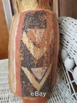 Large Antique Hopi Kachina Doll, Wilson Tawaquaptewa c. 1920's 1930's 18 1/4