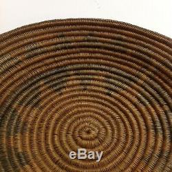 Large Antique Native American Indian Coiled Basket