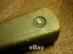 Mid 1800 Hudson's Bay Company Trade Knife & Tacked Sheath Northern Plains Indian