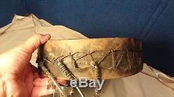 Native American Artifact Indian Drum No Reserve