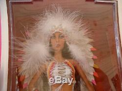 NEW Cher Native Half Breed Barbie Doll by Bob Mackie BLACK LABEL