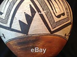 NO RESERVE Large Antique Acoma Pottery Native American Indian Wedding Vase