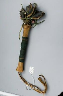 Native American 19th Century Medicine Man Rattle