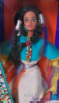 Native American Barbie Doll Dolls of the World 1st, 2nd and 3rd Special Edition