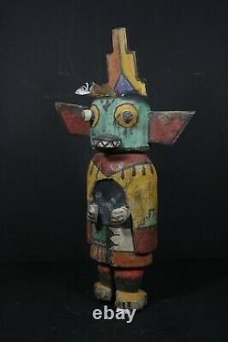Native American HOPI Old Style Hand Carved Traditional Kachina Doll