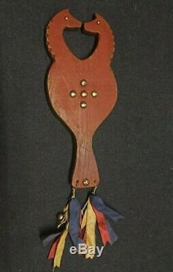 Native American Horse Effigy Mirror Sioux Lakota 1870-1890 ca