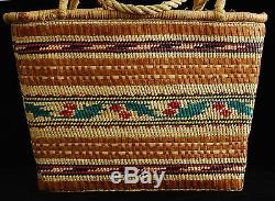 Native American Indian Basket First Nations Northwest Coast Nuu-chah-nulth