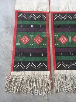 Nice Early Hopi Dance Sash With Germantown Yarns Antique Indian Pueblo