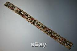 Nice Vintage American indian Cree beaded belt sash