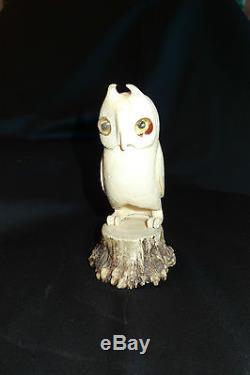 OLD TUPILAK ESKIMO GREENLANDER ART (inuit billiken carving scrimshaw)