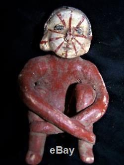 Orig $399. Pre Columbian Figure 6 Provenance