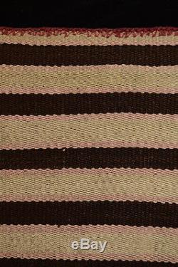 ORIGINAL C. 1900 AYMARA INDIAN BLANKET Beautiful Southwest Tribal Stripes TM7851