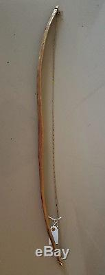 Old Antique Plains Native American Indian Painted Ash Wood Bow Original string