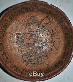 Orig $1099 Wow! Pre Columbian Mayan Bowl, 6in Prov