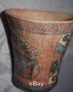Orig $399. Pre Columbian Peru Moche Bird Bowl 7 Prov
