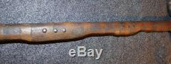 Original Blackfoot Sioux Pipe Tomahawk RARE Step Down Haft Indian Weapon 1860