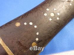 Original Dag Knife of Shawnee Chief Black Fish Oklahoma Estate Museum Quality