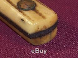 Original Indian Trade Knife Bone Handle Great Lakes Fur Trade Era