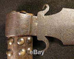 Original Osage Indian Missouri War Axe Tomahawk Forged Spontoon Head 1840