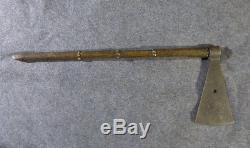 Original Shoshone Indian Missouri War Axe Forged Head Ash Haft 1830
