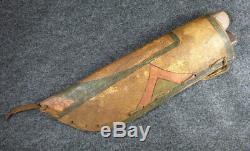 Original Sioux Indian Knives & Parfleche Sheath 1850-1870 Remington