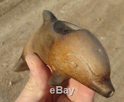 Pipe Dolphin-effigy, Catalina Island, California