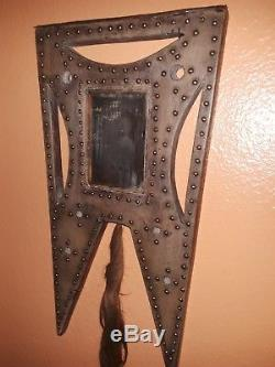 Plains Indian Ghost Dance Mirror Antique Tomahawk Indian Wars